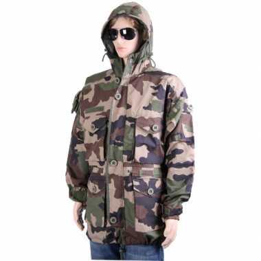 Goedkope  Dikke winterjas in camouflage print
