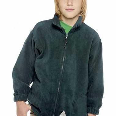 Kleding kinder fleece jas