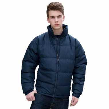 Goedkope  Result jas donkerblauw voor heren